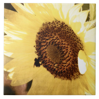 Vintage Sunflower Tile