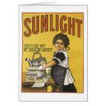 Vintage Sunlight Ad Card