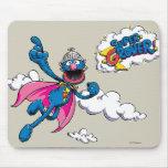 Vintage Super Grover Mouse Pad