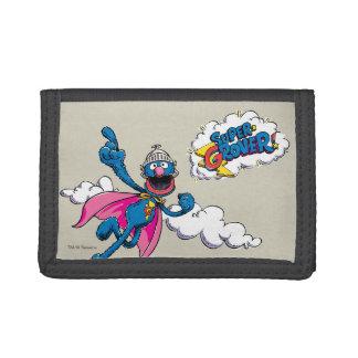 Vintage Super Grover Tri-fold Wallet