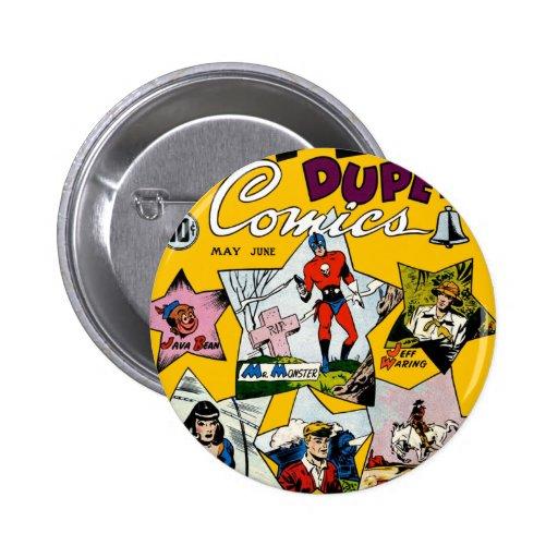 Vintage Super Hero Comic Pin