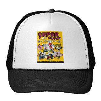 Vintage Super Hero Comic Mesh Hat