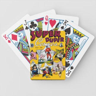 Vintage Super Hero Comic Card Decks