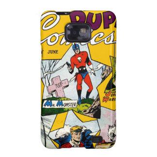 Vintage Super Hero Comic Samsung Galaxy S2 Case