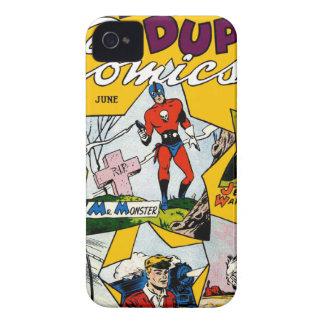 Vintage Super Hero Comic iPhone 4 Cases