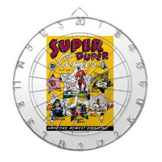 Vintage Super Hero Comic Dart Boards