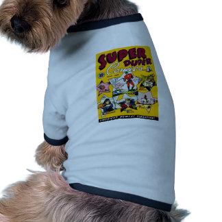 Vintage Super Hero Comic Doggie T-shirt