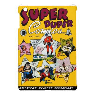Vintage Super Hero Comic iPad Mini Cases