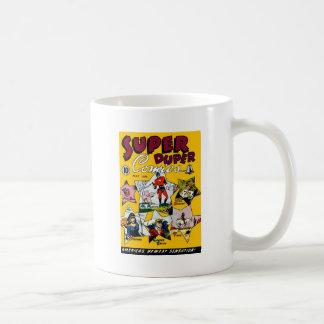 Vintage Super Hero Comic Coffee Mug