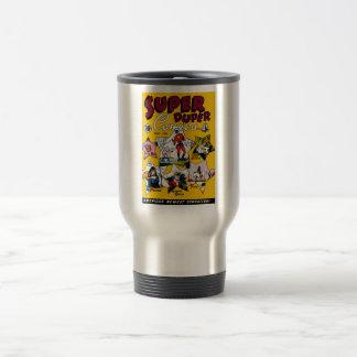 Vintage Super Hero Comic Mug