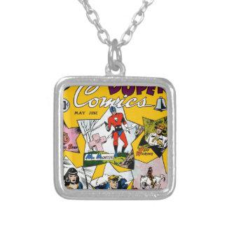 Vintage Super Hero Comic Pendant