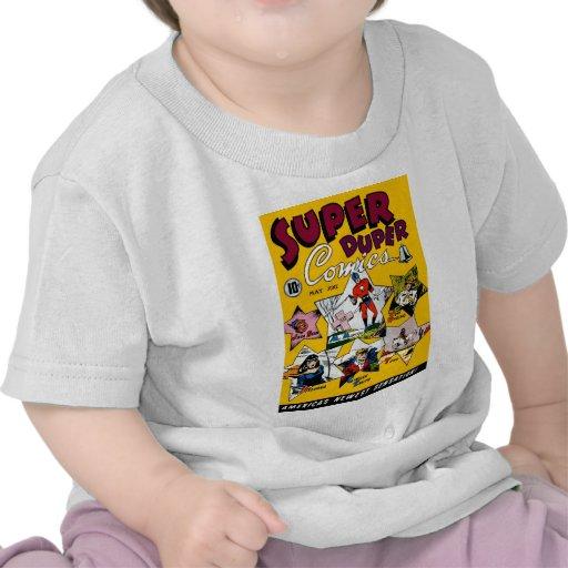 Vintage Super Hero Comic Tee Shirt
