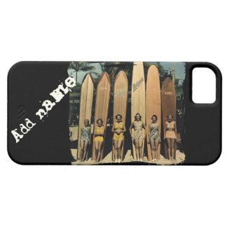 Vintage surfer girls case for the iPhone 5