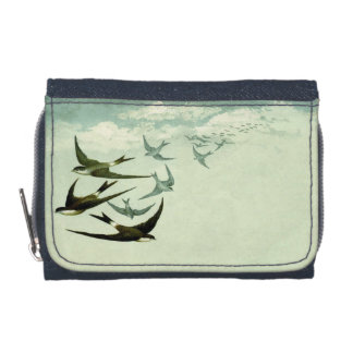 Vintage Swallows Wallet