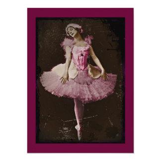 Vintage Swan Lake Card