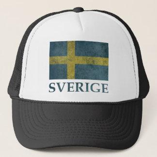 Vintage Sweden Trucker Hat