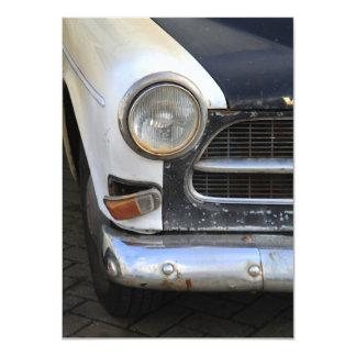Vintage Swedish Car detail 4.5x6.25 Paper Invitation Card