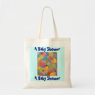 Vintage Sweet Babies a Baby Shower Gift Tote Bag