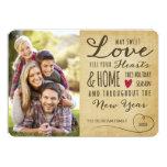 Vintage Sweet Love Holiday Photo Card 13 Cm X 18 Cm Invitation Card