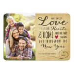Vintage Sweet Love Holiday Photo Card 13 Cm X 18 Cm Invitation Card