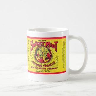 """Vintage """"Sweet Mist"""" Chewing Tobacco Mug"""