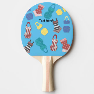 Vintage Swimsuits Ping Pong Paddle