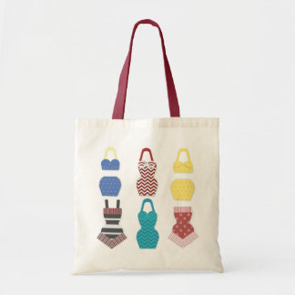 Vintage Swimsuits Tote Bag