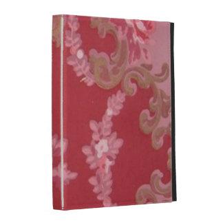 Vintage Swirls Floral Roses iPad Folio Cover