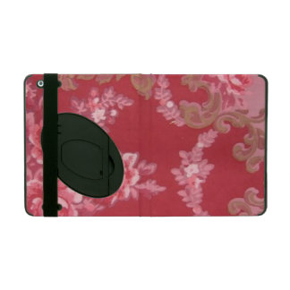 Vintage Swirls Floral Roses iPad Covers