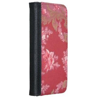 Vintage Swirls Floral Roses iPhone 6 Wallet Case