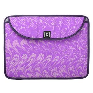 Vintage Swirls Lavender Macbook Pro Flap Sleeve Sleeves For MacBook Pro