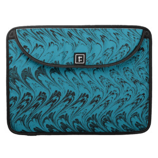 Vintage Swirls Teal Macbook Pro Flap Sleeve Sleeve For MacBook Pro
