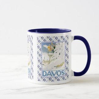 Vintage Swiss design, Davos Mug
