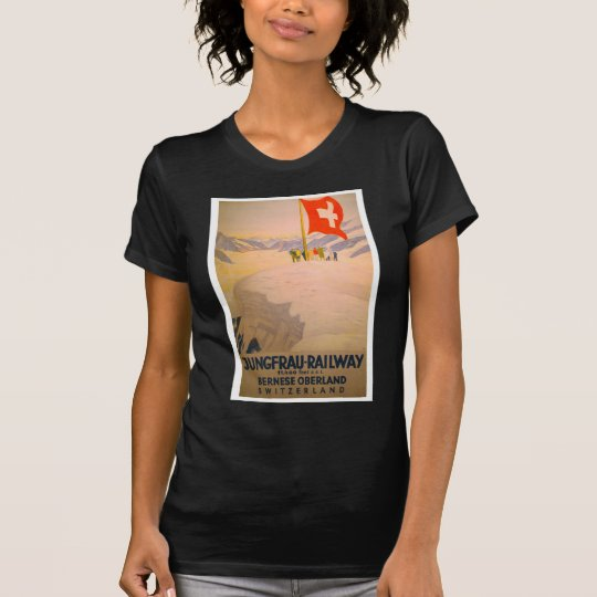 Vintage Swiss Railway Apparel T-Shirt
