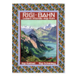 Vintage Swiss Railway Luzern Rigi Bahn Postcards