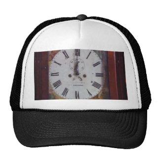 Vintage Swiss Wall Clock elegant design tan border Trucker Hat