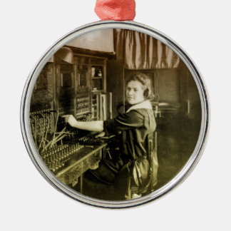 Vintage Switchboard Christmas Ornament