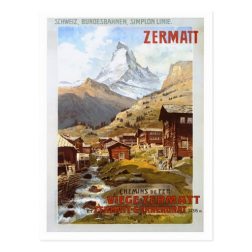 Vintage Switzerland - Postcards