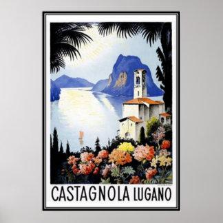 Vintage Switzerland - Poster
