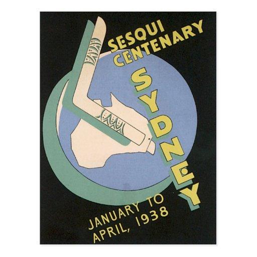 Vintage Sydney Australia Post Card