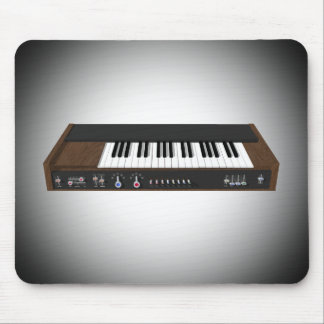Vintage Synthesizer: 3D Model: Mousepad