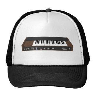 Vintage Synthesizer 3D Model Trucker Hat
