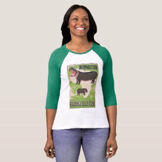 Vintage T-shirt Advertisement WPA Brookefield Zoo