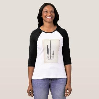 Vintage T-shirt Design Object Viking spear