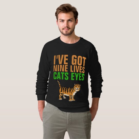VINTAGE T-shirts (CAT) NINE LIVES CATS EYES