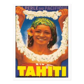 Vintage Tahiti Postcard