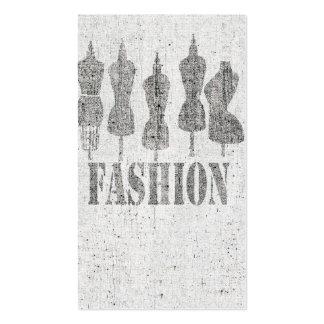 Vintage Tailor Dress Forms Business Card