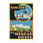 Vintage Tangier, Morocco El Minzah Hotel Postcard