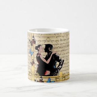 Vintage tango basic white mug