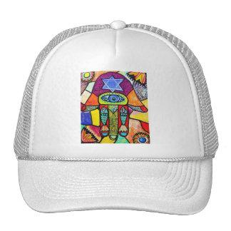 Vintage Tapastry Hamsa Mesh Hats